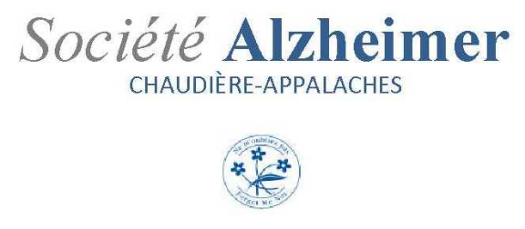 Société Alzheimer Chaudière-Appalaches